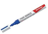 Маркер-краска BERLINGO 2-4 мм, синий