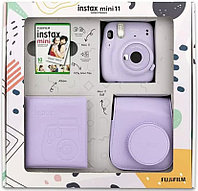 ПОДАРОЧНЫЙ НАБОР Фотоаппарат Fujifilm Instax Mini 11 Lilac Purple (нежная лаванда)