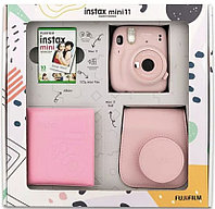 ПОДАРОЧНЫЙ НАБОР Фотоаппарат Fujifilm Instax Mini 11 Blush Pink (румяный розовый)