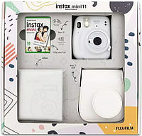 ПОДАРОЧНЫЙ НАБОР Фотоаппарат Fujifilm Instax Mini 11 Ice White (Белый Лед)