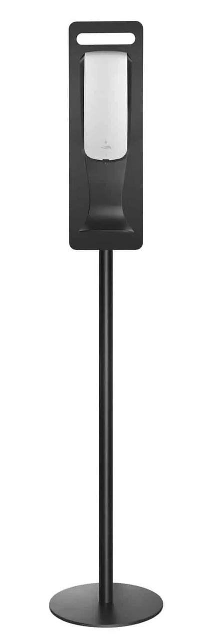 Комплект: Сенсорный дозатор антисептика Breez: BSD1000A с мобильной стойкой