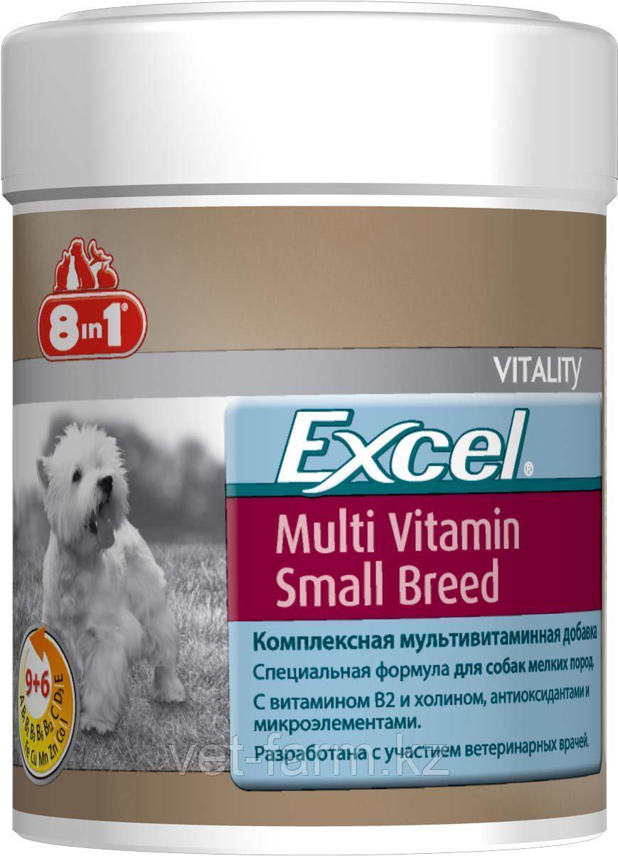 Мультивитамины для собак мелких пород 8in1 Excel Multi Vitamin Small Breed 70 таб