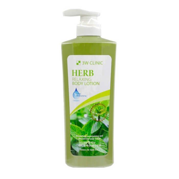 3W CLINIC Лосьон для тела Hurb Relaxing Body Lotion 550 мл