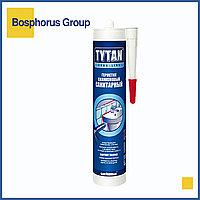 Силикон TYTAN санитарный (герметик силиконовый), бесцветный, белый