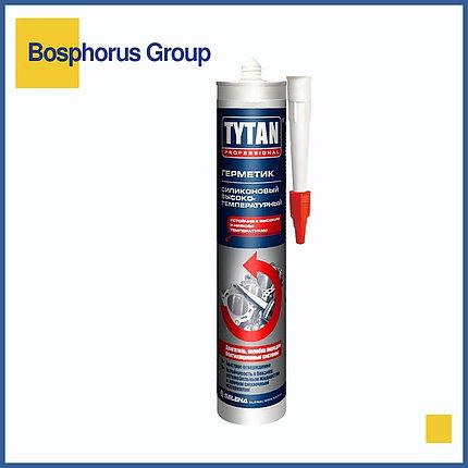 Герметик TYTAN высокотемпературный силиконовый, красный, фото 2