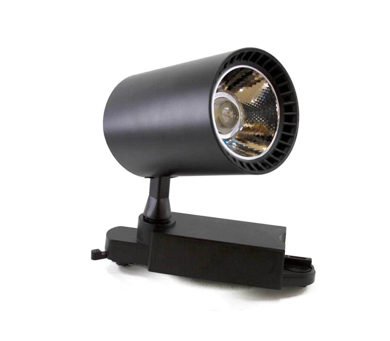 Светодиодный светильник LED MARKET 30w/2400Lm  d87*135 IP20 4000K черн. MEGALIGHT (20)