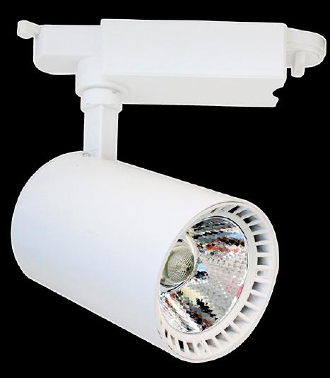 Светодиодный светильник LED MARKET 30w/2400Lm  d87*135 IP20 4000K бел. MEGALIGHT (20)