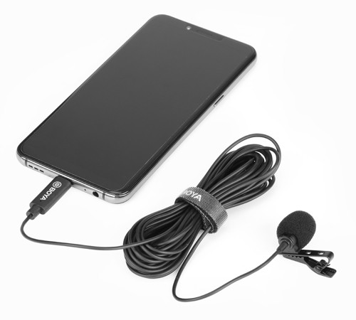 Петличный микрофон  BY-M3  на type-C