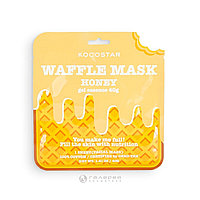 """Kocostar Питательная вафельная маска для лица """"Медовое удовольствие"""", сыворотка 40 г"""
