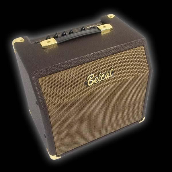 Комбоусилитель для акустической гитары, 15Вт, с эффектом хорус, Belcat Acoustic-15C