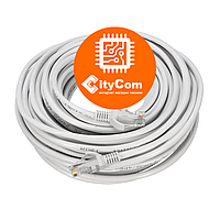 Сетевой кабель Cat.5e, UTP, RJ-45 LAN (Patch Cord, патчкорд), белый, 10m Арт.1509
