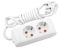 Розетка электрическая MULTI-LET 2 X 3M TOPRAKLI