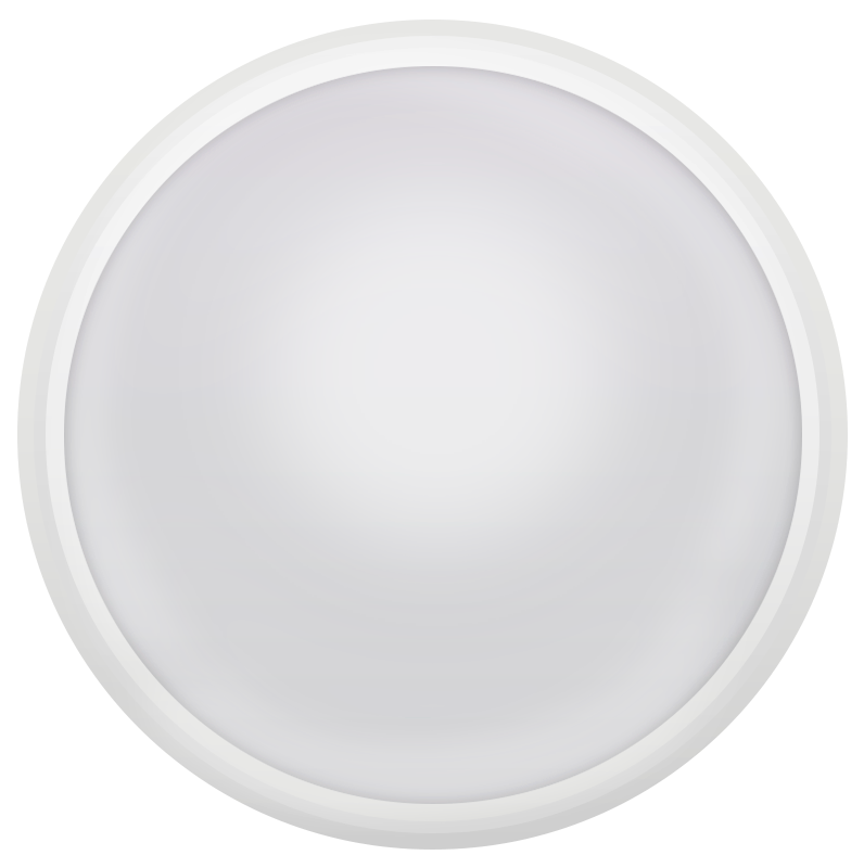 LED ДПО SKAN 18W с датчиком d220*98 4000K  IP65 (уличное освещение) MEGALIGHT NEW