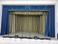 Театральный занавес для сцены