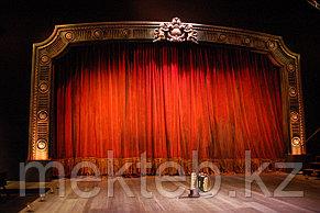 Красивый театральный занавес