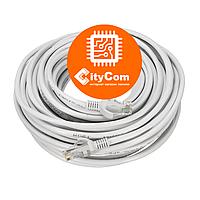 Сетевой кабель Cat.5e, UTP, RJ-45 LAN (Patch Cord, патчкорд), белый, 15m Арт.1426