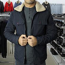 Куртка мужская с воротником