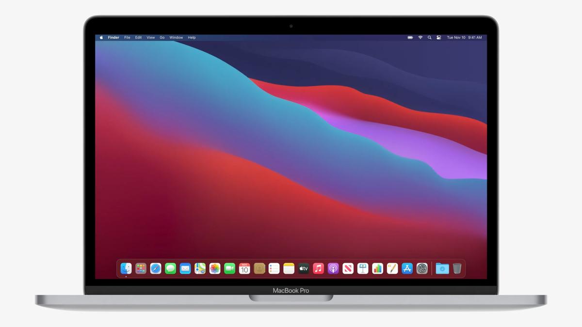 "MacBook Pro 13"" с Touch Bar, 8 ГБ, 256 ГБ, Apple M1, Серебристый, 2020 (MYDA2) - фото 1"