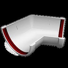 Угол желоба 135° универсальный ПВХ Grand Line Стандарт