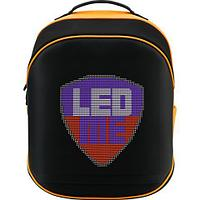 LEDme backpack, animated backpack with LED display, Nylon+TPU material, Dimensions 42*31.5*20cm, LED display