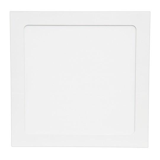 Светильник LED Спот встр. KVADRO/R 18w d225-225 4000K бел. (для внутреннего освещения) MEGALIGHT NEW