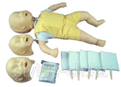 Манекен-симулятор обструкции дыхательных путей у ребёнка
