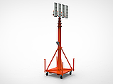 Автономная мобильная мачта освещения, фото 4