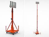 Автономная мобильная мачта освещения, фото 3