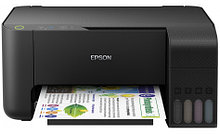 Epson C11CG87405 МФУ струйное цветное L3110 принтер/сканер/копир, 5760x1440dpi, 33стр/мин, USB 2.0, СНПЧ