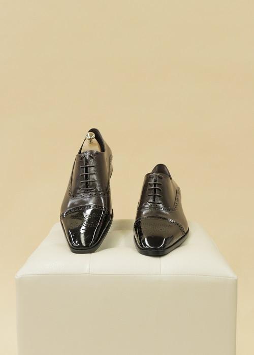 Туфли классические (темно-коричневые)