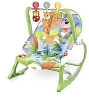 Кресло-качалка Ibaby с игрушками и вибрацией Белочка