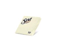 Салфетки бумажные (24х24) 2сл краевое тиснение SPA Premium цвет брызи шампанского 50 листов