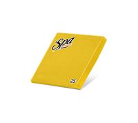 Салфетки бумажные (33х33) 2сл краевое тиснение SPA Premium цвет грейпфрут 25 листов