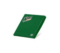 Салфетки бумажные (33х33) 2сл краевое тиснение SPA Premium цвет праздничный зеленый 25 листов