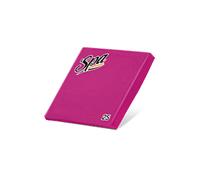 Салфетки бумажные (33х33) 2сл краевое тиснение SPA Premium цвет гортензия 25 листов