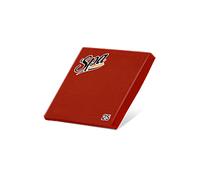 Салфетки бумажные (33х33) 2сл краевое тиснение SPA Premium цвет бордо 25 листов