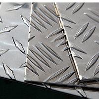 Рифленый алюминиевый лист 1.5 мм АМГ2НР ГОСТ 21631-76
