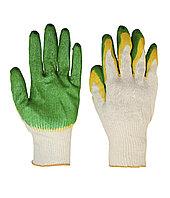Перчатки рабочие трикотажные Грин (латекс)