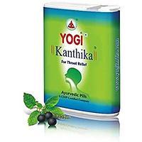 Йоги Кантика средство от боли в горле, простуды и насморка 140pills