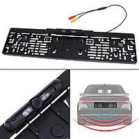 Номерной рамка с камерой заднего вида и ночной подсветкой, ID9488JX, фото 1
