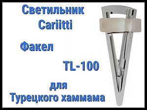 Светильник для турецкого хаммама Cariitti Факел TL-100 (Акриловый стержень, IP67)