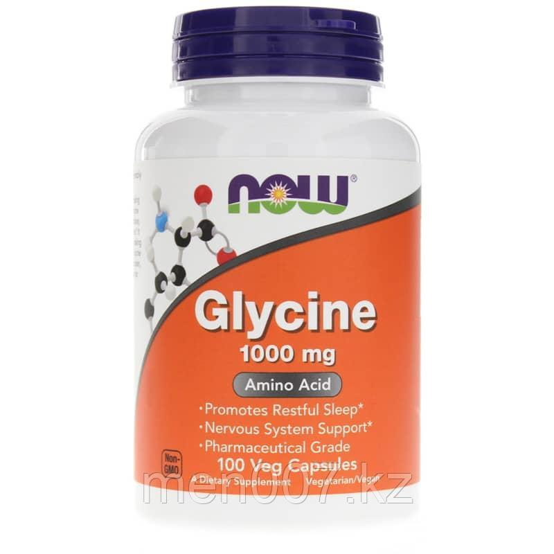 БАД Now Foods, Глицин, 1000 мг (100 капсул)