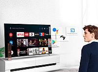 Телевизор YASIN LED-43G8000 SMART, WI-FI, Android TV 9.0, пульт с голосовым Google Assistant
