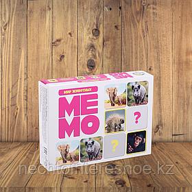 МЕМО Мир животных (50 карточек)