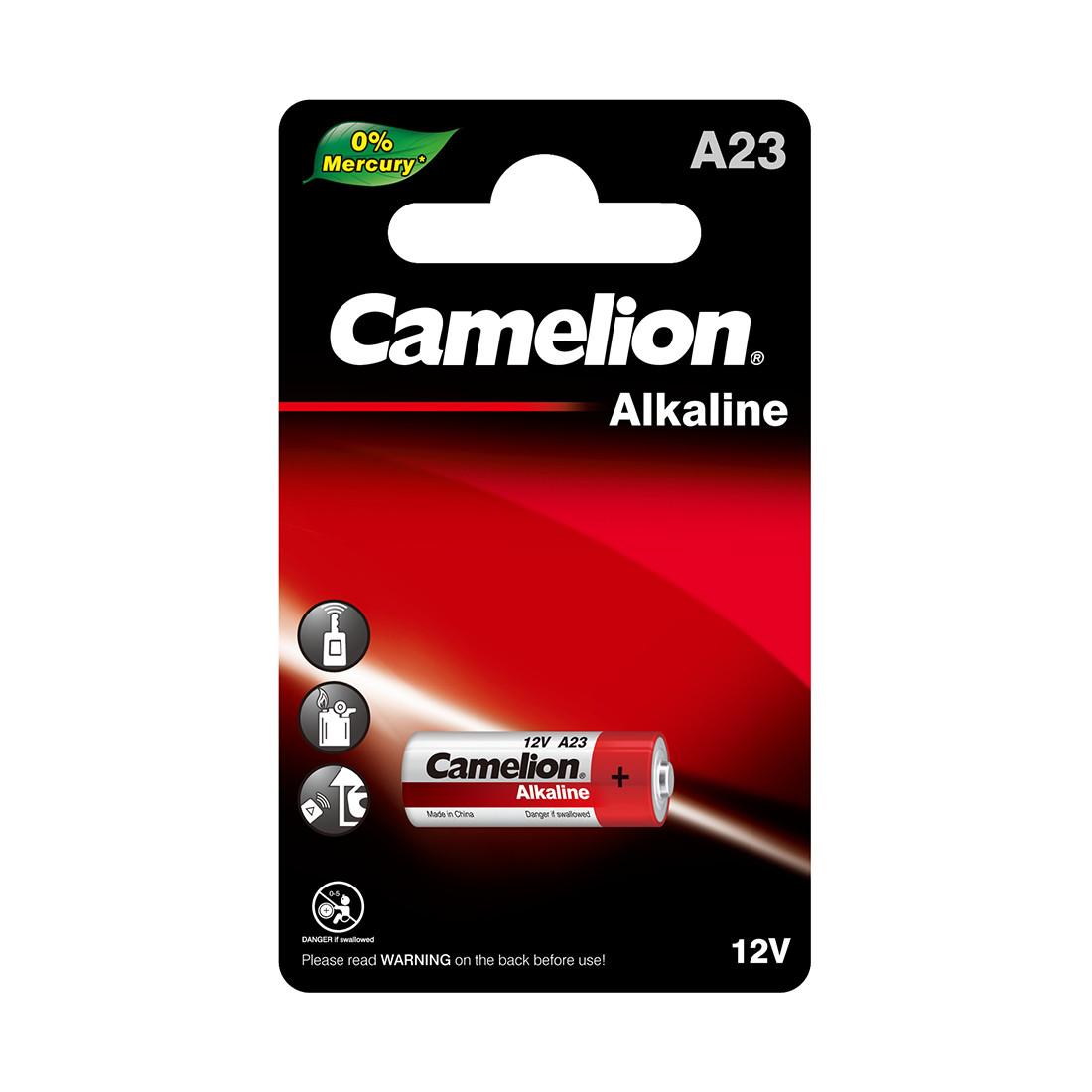 Camelion, Alkaline A23-BP1, батарейка