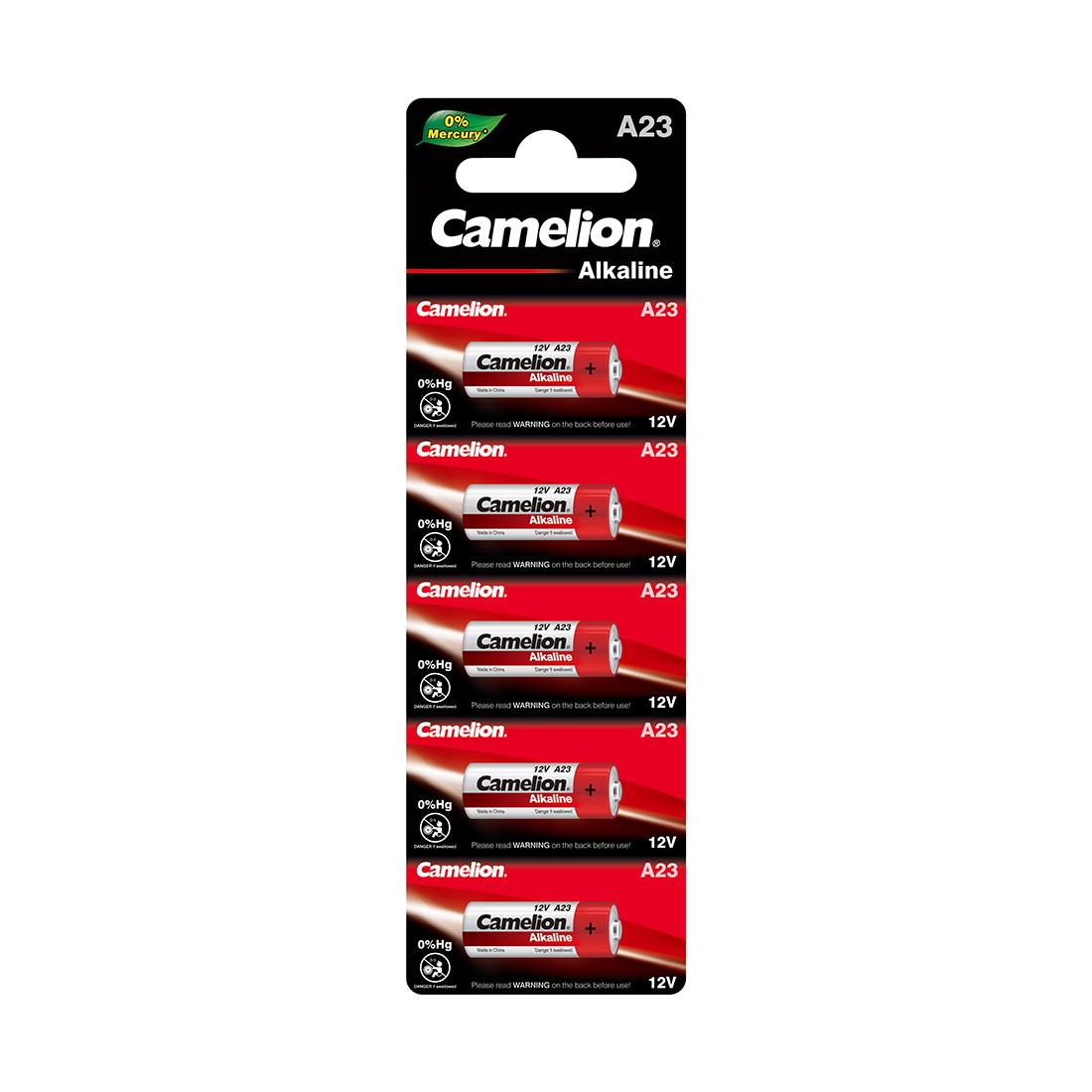 Camelion, Alkaline A23-BP5, батарейка