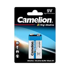 Camelion, Digi Alkaline 6LR61-BP1DG, батарейка
