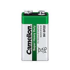 Camelion, Super Heavy Duty 6F22-SP1G, батарейка