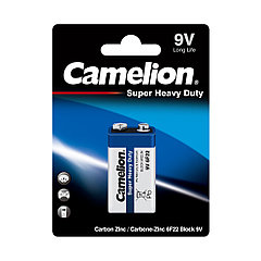 Camelion, Super Heavy Duty 6F22 - BP1B (1шт), батарейка
