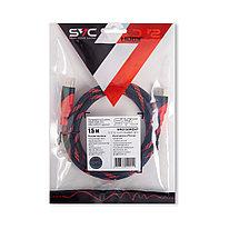 Интерфейсный кабель  HDMI-HDMI  SVC  HR0150RD-P  30В  Красный  Пол. пакет  1.5 м